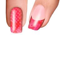 Trendy Nail Wraps Pink Crock Kynsikalvo kärkikalvo