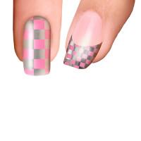 Trendy Nail Wraps Pink Ladies Kynsikalvo koko kynsi