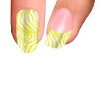 Trendy Nail Wraps Lemonade Kynsikalvo koko kynsi