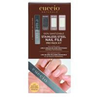 Cuccio Stainless Nail File Pro Pack metallinen kynsiviila