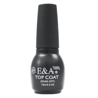 Noname Cosmetics E&A UV/LED Top Coat Päällysakka 15 mL