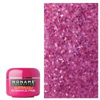 Noname Cosmetics Romance Pink Glitter UV geeli 5 g