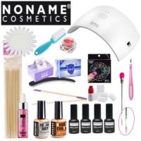 Noname Cosmetics 3-vaihe Geelilakka-aloituspaketti SUN 9C UV&LED-uunilla