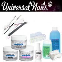 Universal Nails Monophase UV/LED-Geeli Aloituspaketti ilman uunia