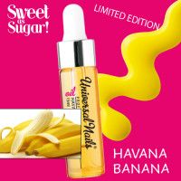 Silcare Havana Banana Garden of Colour Kynsinauhaöljy pipetillä 15 mL