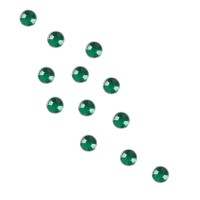 Universal Nails RhineStones Round Green Kynsitimantit vihreä 100 kpl