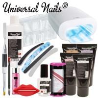 Universal Nails Acrylic-Gel Aloituspaketti Master Promed UVL-36 S UV-uunilla