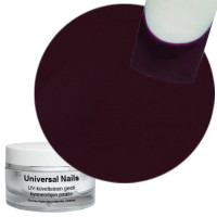 Universal Nails Tumma Purppura UV värigeeli 10 g