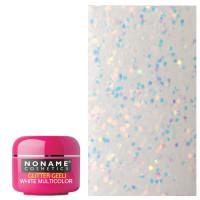 Noname Cosmetics White Multicolor Glitter UV geeli 5 g