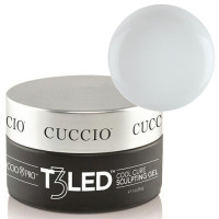 Cuccio White T3 LED/UV Self Leveling Cool Cure geeli 28 g