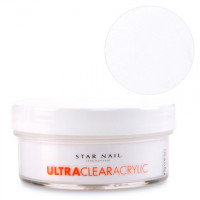 Star Nail Super Valkoinen Ultra Clear akryylipuuteri 45 g