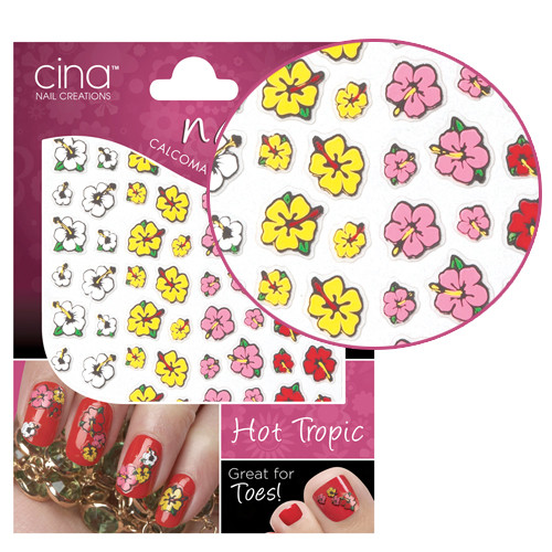 Cinapro Hot Tropic Nail Art Stickers Stickers And Striping Tapes