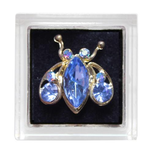 Sina Toe Ring blue ladybug