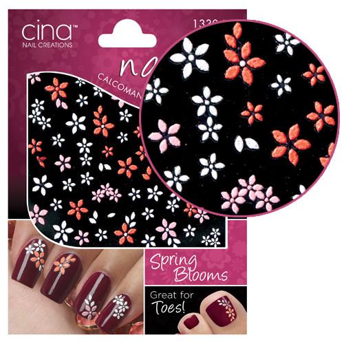 Cinapro Spring Blooms Nail Art Stickers Kauneuden Verkkokauppa