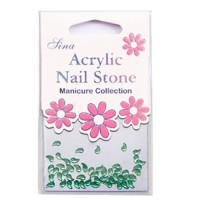 Sina Acrylic Nail Stones Acry-47 48 kpl