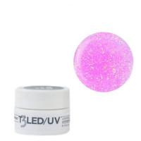 Cuccio Barbie Glitter T3 LED/UV Self Leveling Cool Cure gel 7 g