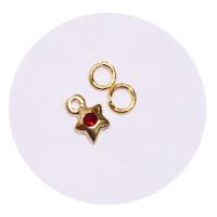 Sina Nail Dangle golden pentagram