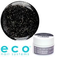 Eco Nail Systems Midnight Glitter Eco Soak Off gel 7 g
