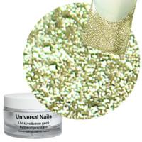 Universal Nails Hieno Prosecco Deluxe Glitter UV gel 10 g