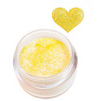 Sina Light Yellow Glitter acrylic powder 5,1 g