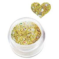 Sina Gold Glitter acrylic powder 5,1 g