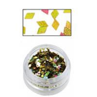 Sina Gold Alpha Glitter Diamond