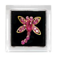 Sina Toe Ring pink dragonfly