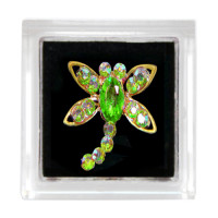 Sina Toe Ring green dragonfly