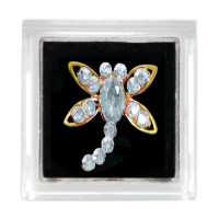 Sina Toe Ring clear dragonfly