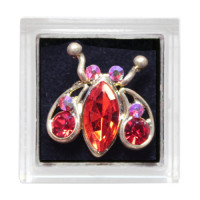 Sina Toe Ring red ladybug