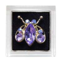Sina Toe Ring purple ladybug