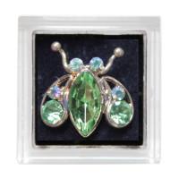 Sina Toe Ring green ladybug