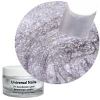 Universal Nails Jäinen Hopea Ice Silver Metallic UV gel 10 g