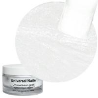 Universal Nails Valkoinen White Metallic UV gel 10 g