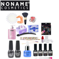 Noname Cosmetics 3-Step Soak Off Gel Starter Kit