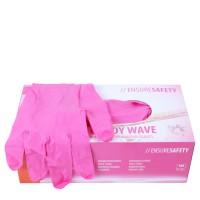 Noname Cosmetics Pink Nitrile Gloves 100 kpl