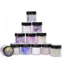 Noname Cosmetics Glitter acrylic powder set