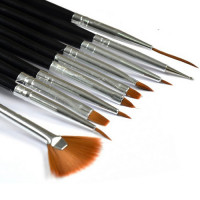 Noname Cosmetics Gel Brush set 10 kpl