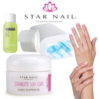 Star Nail Starlite UV-Gel Starter Kit with Promed UVL-36 S UV-lamp