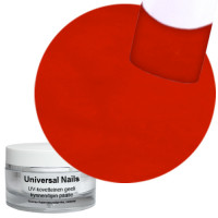 Universal Nails Puhdas Punainen Pure Red UV color gel 10 g