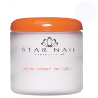 Star Nail Clear Ultra Clear acrylic powder 161 g