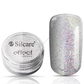 Silcare #01 Freeze Effect glitterpuuteri 1 g