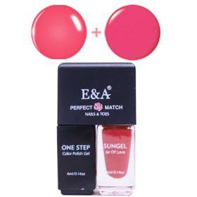 E&A 06 Perfect Match geelilakkasetti 2 x 4 mL