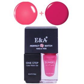 E&A 09 Perfect Match geelilakkasetti 2 x 4 mL