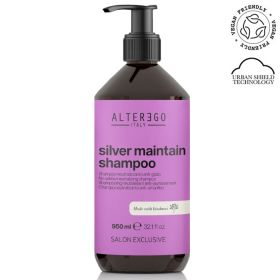 Alter Ego Italy Silver Maintain No-Yellow shampoo 950 mL