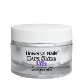 Universal Nails Liila X-tra Shine UV/LED päällysgeeli 10 g