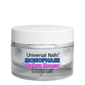 Universal Nails Paksu Roosa Monophase UV/LED geeli 10 g