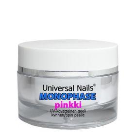Universal Nails Pinkki Monophase UV/LED geeli 10 g