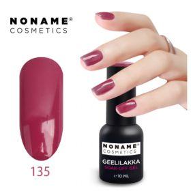 Noname Cosmetics #135 3-vaihe geelilakka 10 mL