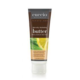 Cuccio Naturalé Butter Blend White Limetta & Aloe Vera kosteusvoide 113 g